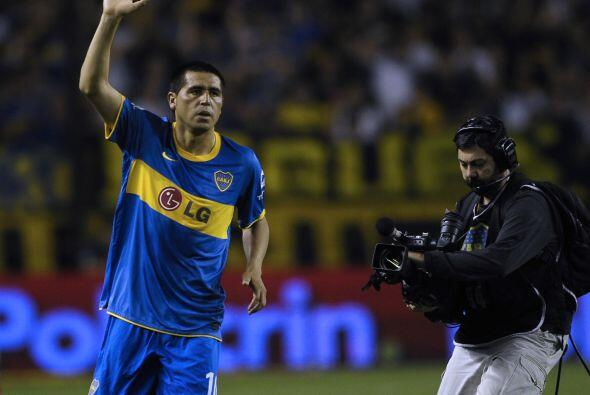 En tanto en Boca Juniors regresó Juan Román Riquelme luego de varios mes...