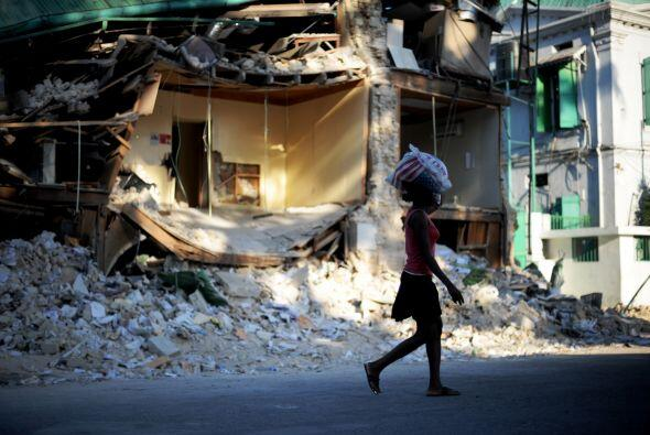 Sumido en la aletargada recuperación tras el terremoto que destruyó la c...