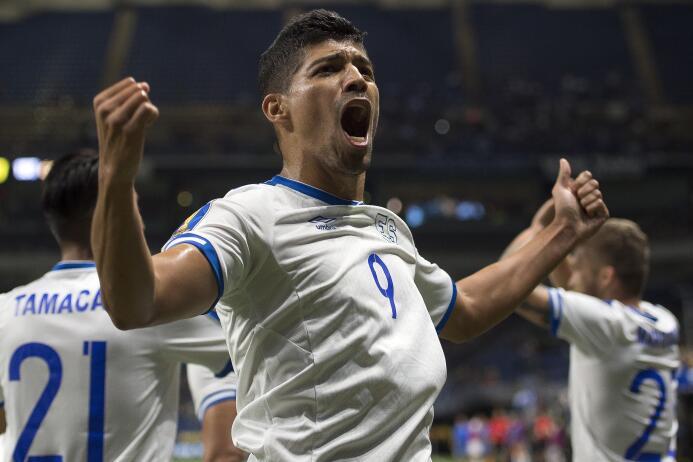Nelson Bonilla (El Salvador): 2 goles