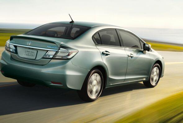 Honda Civic Hybrid 2015- Precio: $24,735; Consumo (ciudad/carretera): 44...