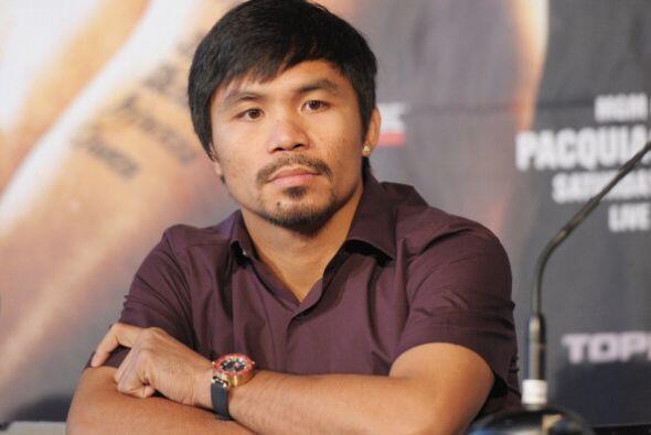 Pacquiao, quien también comenzó su entrenamiento en Filipinas, espera po...