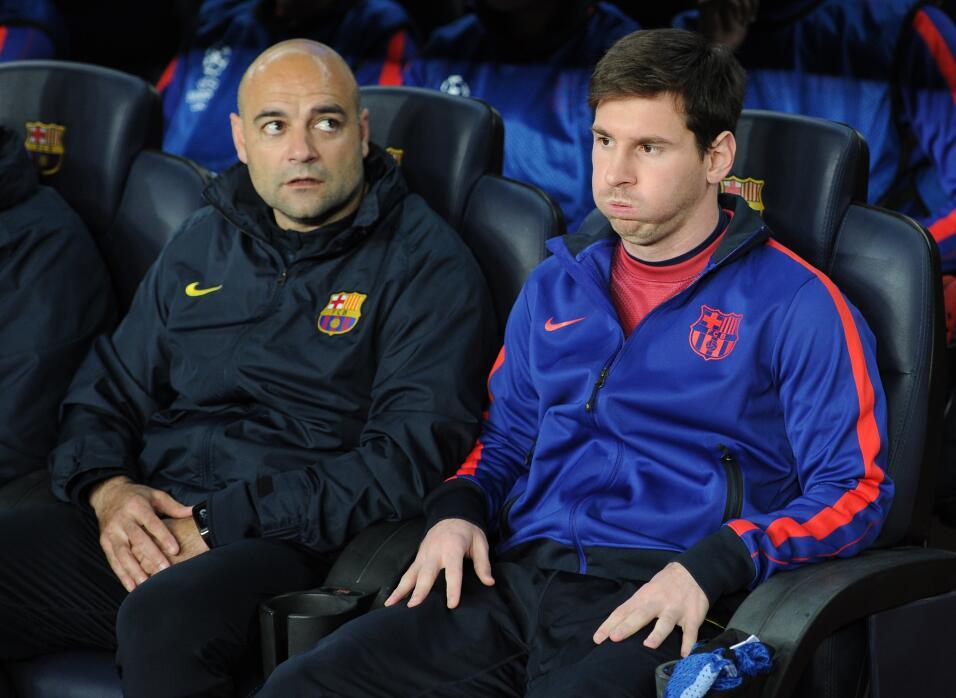 Barcelona sin Messi