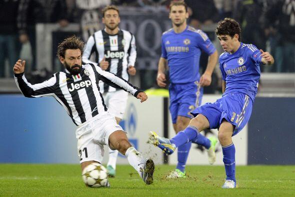 Por su parte, el Italia se vivió un partido de pesos pesado, Chelsea vis...