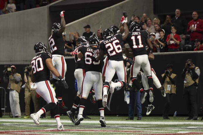 En fotos: Los favoritos en la Semana  13 de a NFL falcons-por-25-vs-viki...