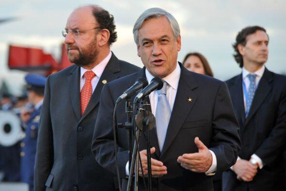 El casi recién electo mandatario chileno Sebastián Pi&ntil...