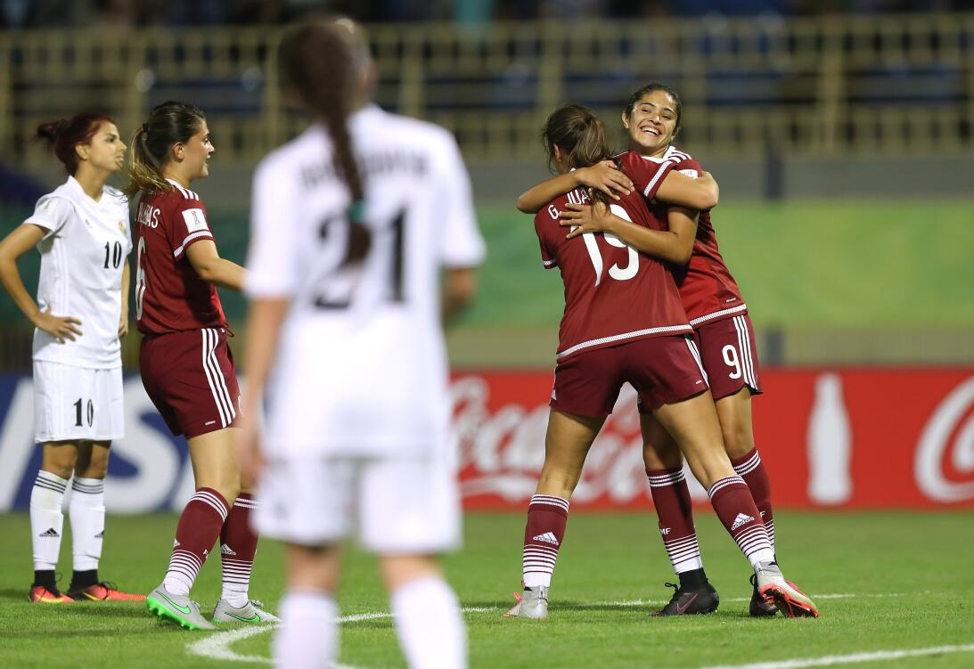La grandeza de México contra Jordania en el Mundial Sub-17 femenino  Get...