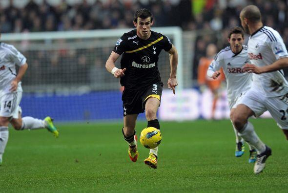 Gareth Bale, como siempre, fue una de las figuras del Tottenham.