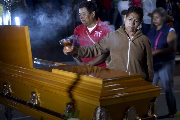 La familia de Julio César Ramírez Nava tuvo que pedir ayuda al gobierno...