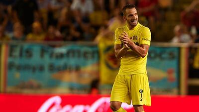 Roberto Soldado marcó su primer gol con el Villarreal en el Madrigal.