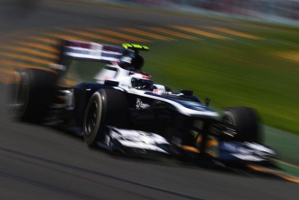 El Williams de Pastor Maldonado, listo para las clasificaciones.