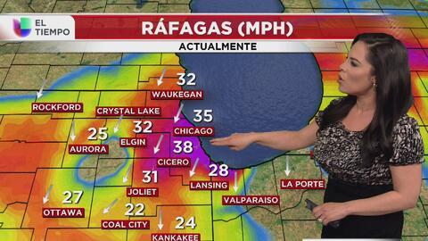 Fuertes vientos, precipitación y bajas temperaturas tendrán que afrontar...