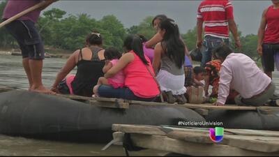 El paso de los migrantes por México para llegar a Estados Unidos
