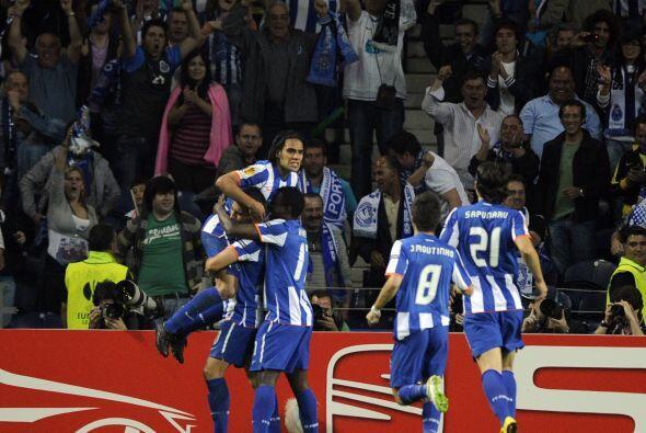 Fue la locura para el Oporto que se sentía con pie y medio en la Final.