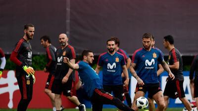 Dani Carvajal podría estar listo para el España vs. Irán