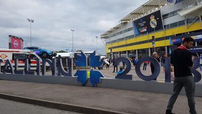 'Merengues' y 'colchoneros' tomaron Tallin para vivir la Supercopa de la UEFA