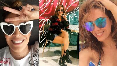 En fotos: la colección de gafas de Karla Martínez