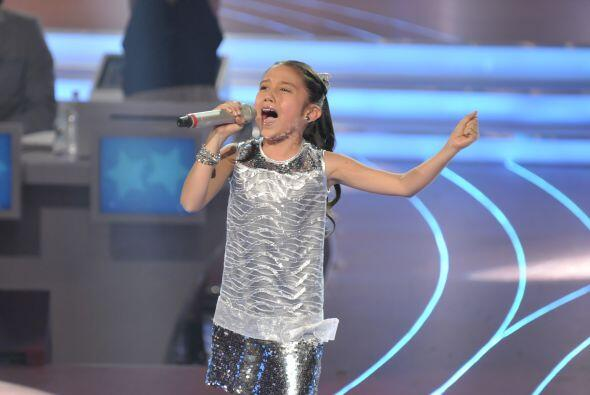 Ella sacó todo su potencial sobre el escenario.