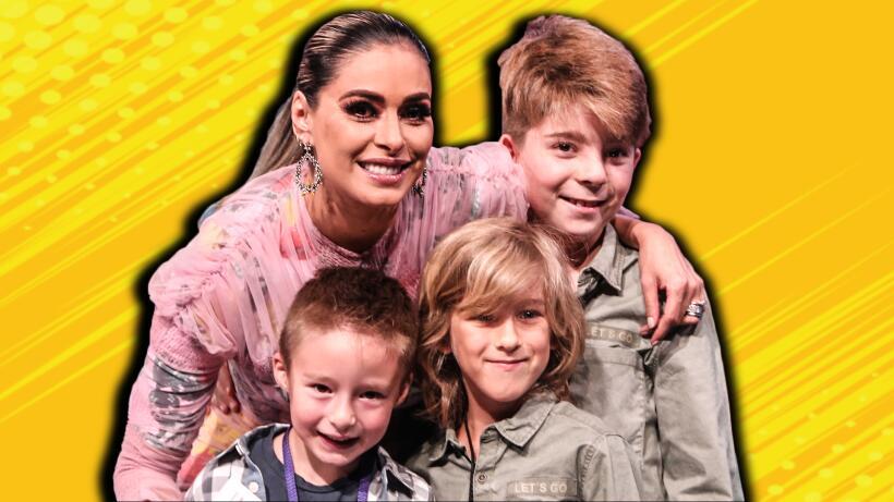 Galilea con sus tres hijos y todo lo demás que no viste en Pequeños Giga...