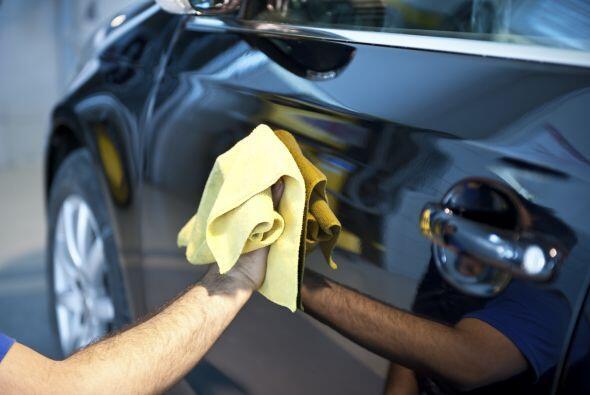 Limpieza. El estado de tu automóvil  no deja de ser importante.