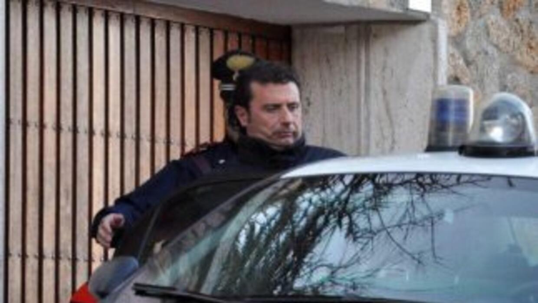 Francesco Schettino, que actualmente se encuentra en detención domicilia...