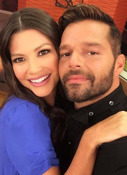 """""""Te amamos en Despierta América, Ricky Martin. Gracias por tu vibra y en..."""