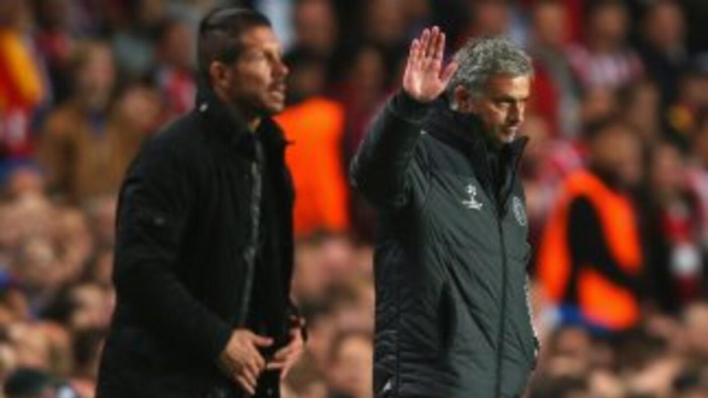 Mourinho perdió la partida ante el 'Cholo'.