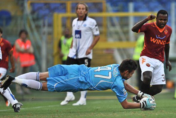 Pero la Roma quería más y anotó el tercero.