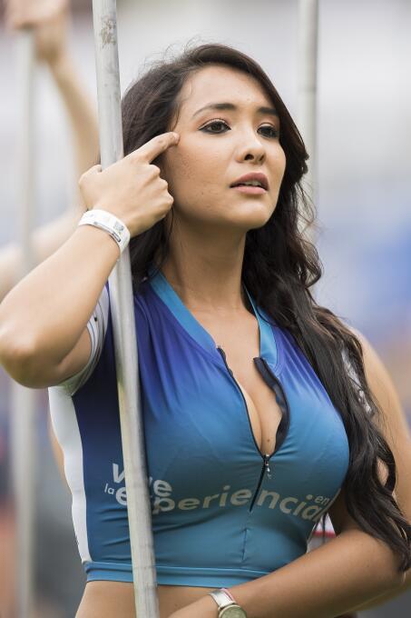 Hermosos rotros engalanaron los estadios del fútbol mexicano en su segun...