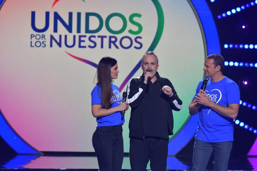 El cantautor español Miguel Bosé le explicó a los conductores Chiquinqui...