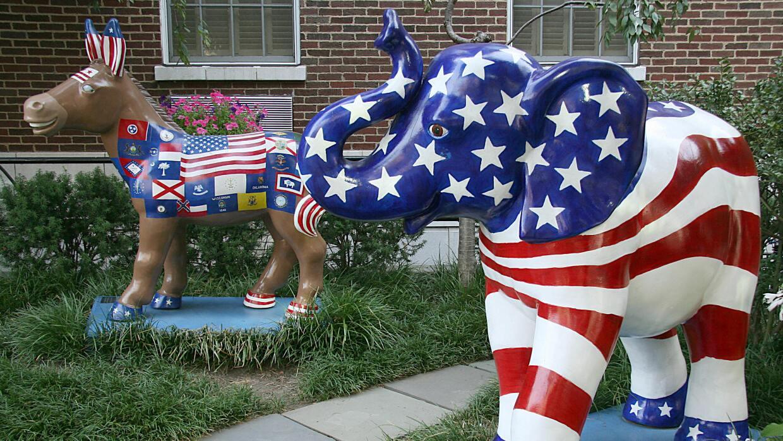 Opinión: Una democracia atrofiada GettyImages-Elephant-Donkey2.jpg