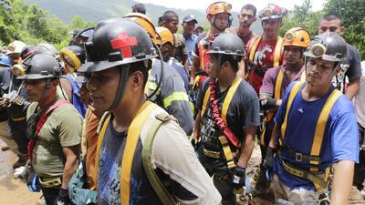 Continúan las labores de rescate en Nicaragua