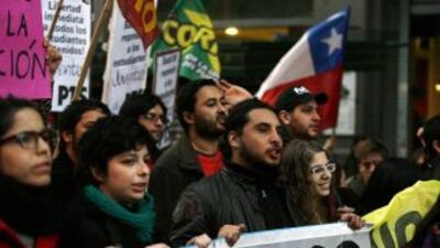 Los estudiantes chilenos convocan a un nuevo paro.