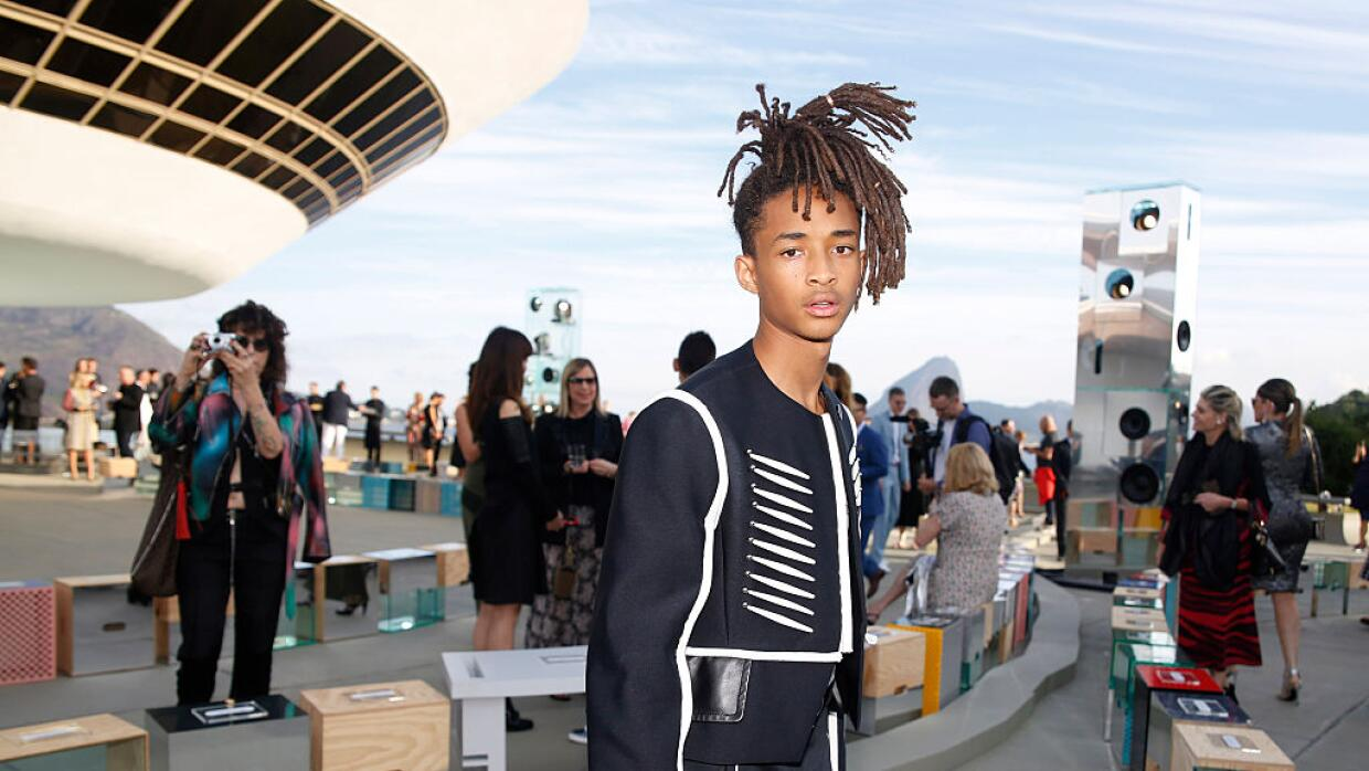 Actor, rapper and model Jaden Smith poses for a photo at MAC Niter for t...