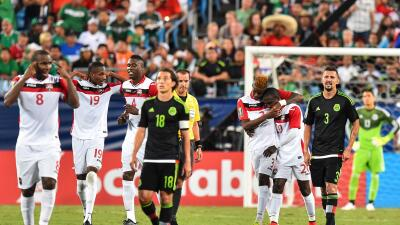Los caribeños se quedaron con el Grupo C de la Copa Oro.