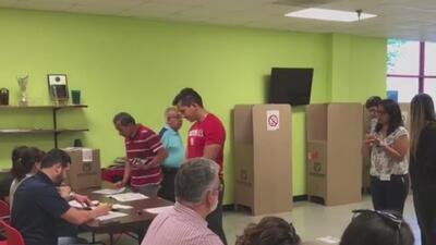 Así fueron las votaciones anticipadas en Houston para las elecciones presidenciales de Colombia