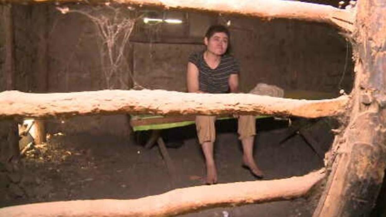 Yamileth Valle, joven que vive encerrada