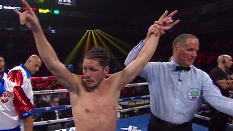 Diego Magdaleno salió victorioso ante José González.