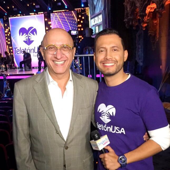 Alberto Ciurana Teletón USA 2015