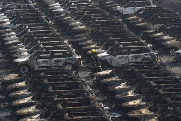 Explosión en Tianjin, China