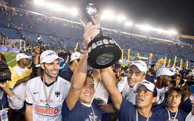 Monterrey se coronó en el Apertura 2009 en el Estadio Azul.
