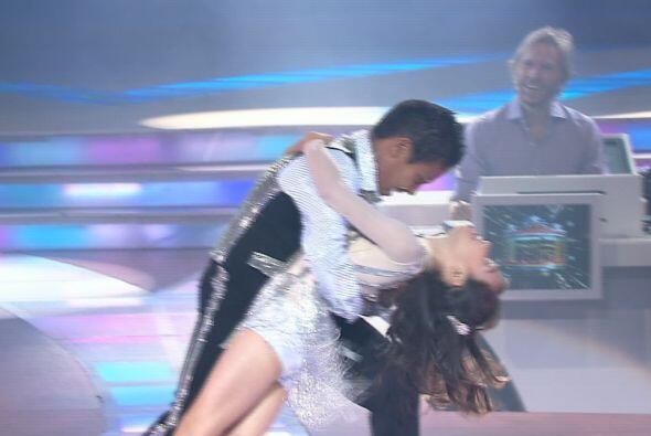 Mientras que en el baile Gerardo e Ylenia hicieron un excelente papel.