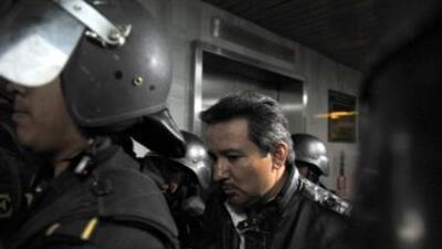 """El supuesto narcotraficante guatemalteco Juan Ortiz López, alias """"Chamalé""""."""