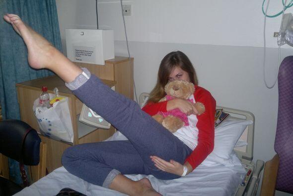 Chelsey tenía que sentarse o gatear para poder moverse por lo que creyó...
