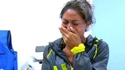 Sachi Tamashiro recibió una triste noticia y no contuvo sus ganas de llorar
