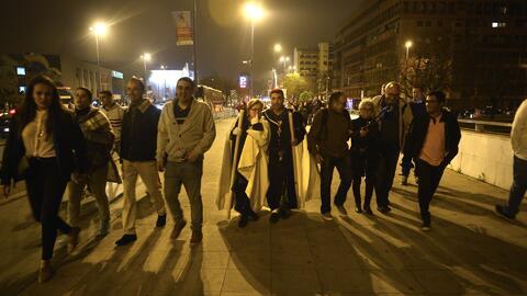 Tanya Charry reveló detalles del disturbio en Sevilla durante una proces...