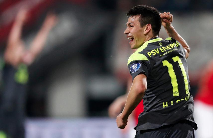 Hirving Lozano: el 'Chucky' volvió al gol con el PSV en el triun...