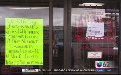 Decenas de negocios en Austin se unen al movimiento 'Un día sin inmigran...
