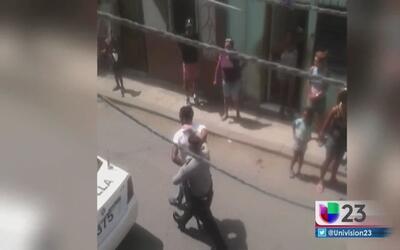 Se registran más arrestos a manifestantes en Cuba