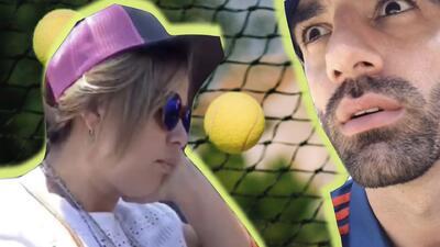 No muy fan del tenis: ríete con Adamari López durmiendo en la final del Miami Open (Video)