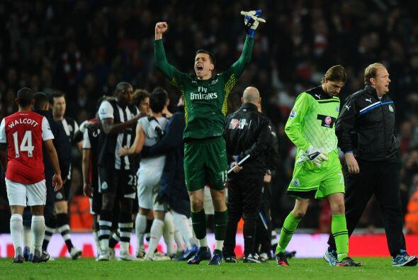 Victoria definitiva para el Arsenal por 2-1, que se pone a un punto del...